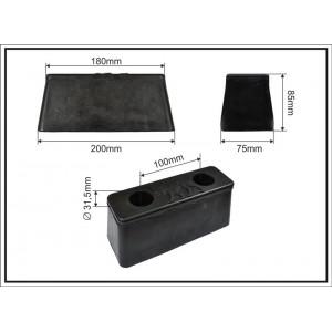 Gumi tampon 200X75X85 - WIELTON
