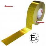 Bandă reflectorizantă galben continu 67.03.02